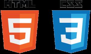 HTML and CSS Logos