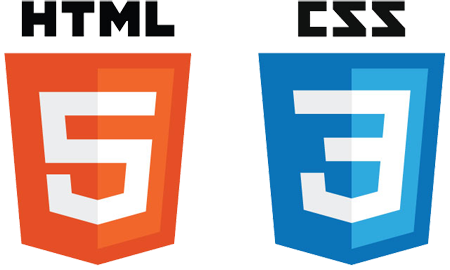 HTML and CSS Logos