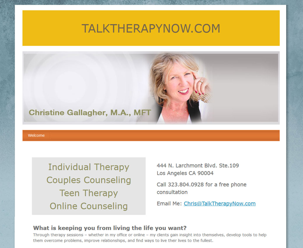 Talk Therapy Now - Christine Gallagher